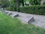 Плиты у памятника советским солдатам