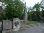 Фото памятника советским воинам в Чехии