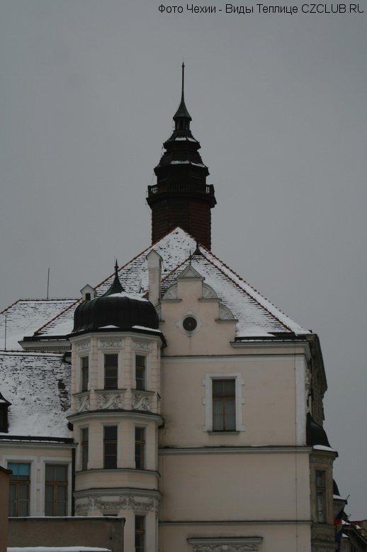 Фотография дома в Чехии