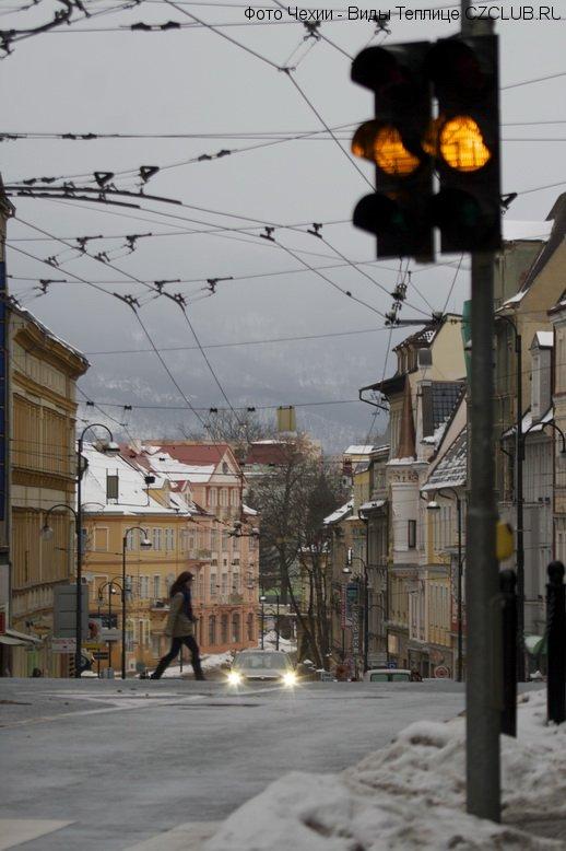 Масарикова улица в Теплице
