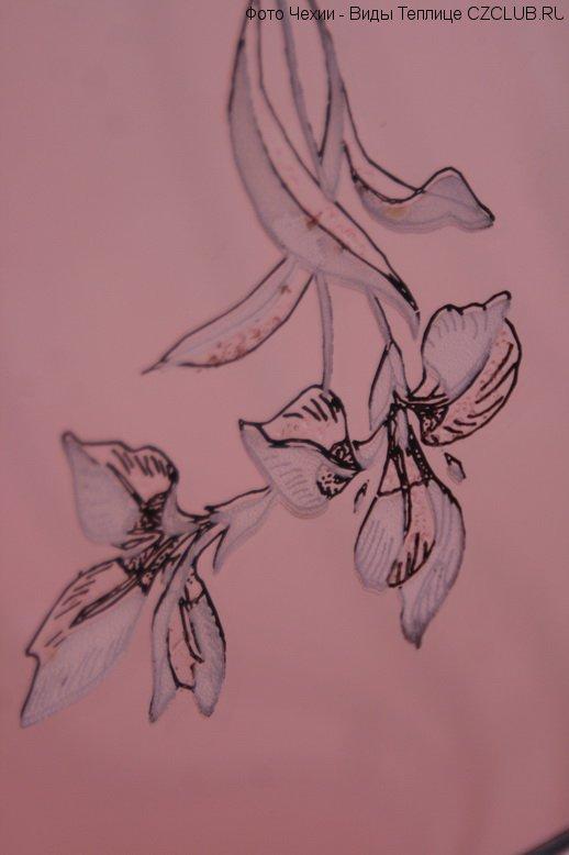 Пано с изображением цветов