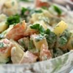 чешская кухня-картофельный салат