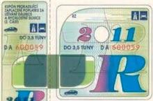 Стоимость проезда по дорогам Чехии, дорожная марка, дороги и автобаны Чехии