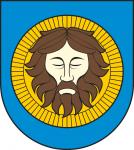 На фото Чехии изображен герб города Теплице