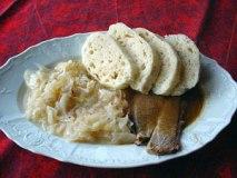 Основное блюдо чешской кухни, кнедлики разных сортов