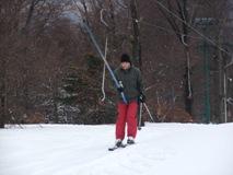 Катание на лыжах в горных центрах Чехии
