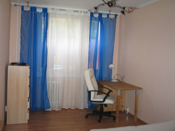 Спальня, можно использовать, как кабинет