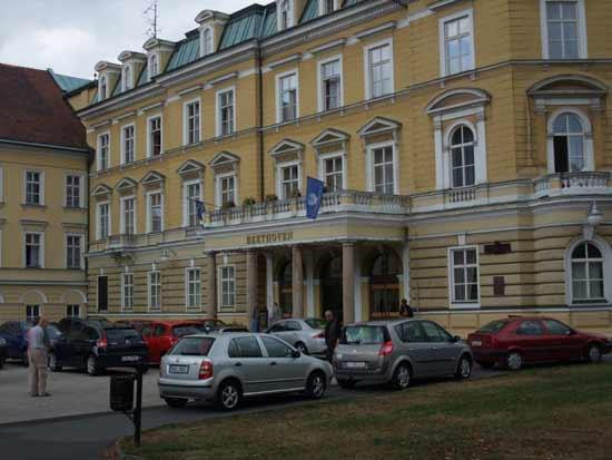 фото Теплице Чехия, санаторный дом Бетховен (Beethoven)