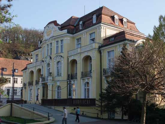 Саноаторий Каменный, Теплице Чехия