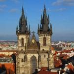 фото Старой площади Праги