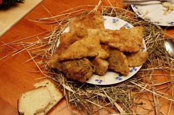 чешская кухня, карп на рождество